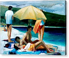 Summer Time Acrylic Print by George Siaba