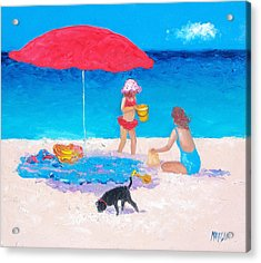 Summer Vacation Acrylic Print by Jan Matson