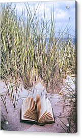 Summertime Is Reading Time Acrylic Print by Joana Kruse