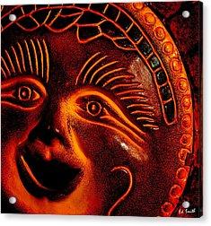 Sun Burn Acrylic Print