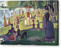 Sunday Afternoon On The Island Of La Grande Jatte Acrylic Print