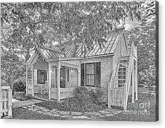Sunday House Cottage Acrylic Print
