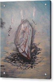 Sunken Ship Acrylic Print