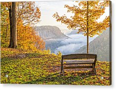 Sunrise At Humphrey's Overlook Acrylic Print