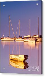 Sunrise At West Bay Osterville Cape Cod Acrylic Print by Matt Suess