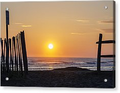 Sunrise In New Jersey Acrylic Print by Bill Cannon