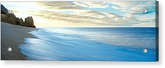 Sunrise Over Pacific Ocean, Lands End Acrylic Print by Panoramic Images