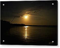Acrylic Print featuring the photograph Sunset by Angel Cher