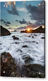 Sunset At Lombok Acrylic Print