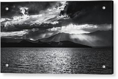 Acrylic Print featuring the photograph Sunset by Hayato Matsumoto