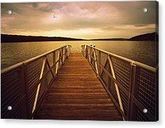 Sunset Horizon Acrylic Print