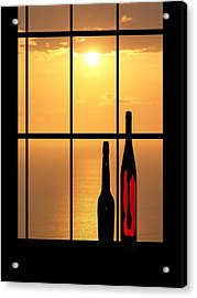 Acrylic Print featuring the photograph Sunset In Hawaii by Athala Carole Bruckner