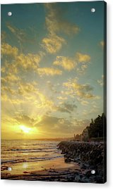 Acrylic Print featuring the photograph Sunset In The Coast by Carlos Caetano
