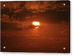 Sunset Acrylic Print by Linda Ferreira