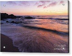 Sunset Over Laguna Beach   Acrylic Print