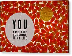 Acrylic Print featuring the photograph Sunshine by Bobby Villapando