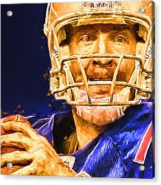 Super Bowl 50 Broncos Vs Panthers Acrylic Print