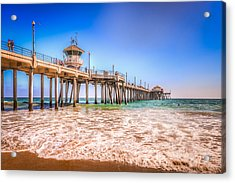 Surf City Pier Acrylic Print