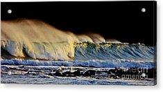 Surfing The Island #2 Acrylic Print by Blair Stuart