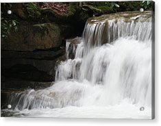 Swallow Falls Acrylic Print by Heather Green