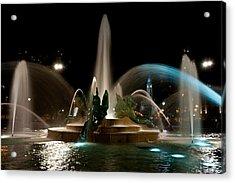 Swann Memorial Fountain Acrylic Print
