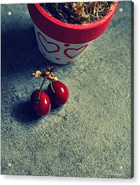 Sweet Couple Acrylic Print by Marija Djedovic