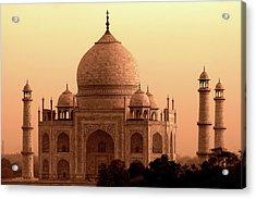 Taj Mahal Acrylic Print by Aidan Moran