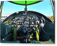 Take Me To The Pilot Acrylic Print by Tim Coleman