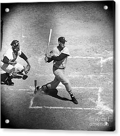 Ted Williams (1918-2002) Acrylic Print by Granger
