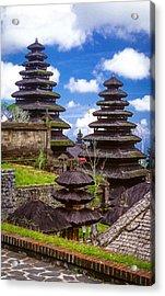 Temple City Acrylic Print