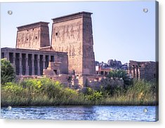 Temple Of Philae - Egypt Acrylic Print