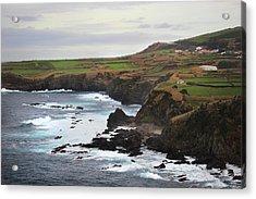 Acrylic Print featuring the photograph Terceira Coastline by Kelly Hazel