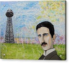 Tesla's Tower. Acrylic Print