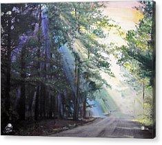 Texas Morning Acrylic Print by Tess Lee