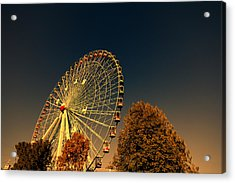 Texas Star Ferris Wheel Acrylic Print