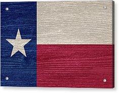 Texas State Flag Acrylic Print