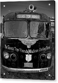 Texas Top  Hands Acrylic Print by Jim Mathis