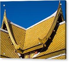 Thai Pavillon - Ohlbrich Gardens - Madison - Wisconsin Acrylic Print