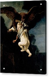 The Abduction Of Ganymede Acrylic Print