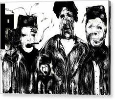 The Actors Acrylic Print