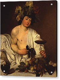 The Adolescent Bacchus Acrylic Print