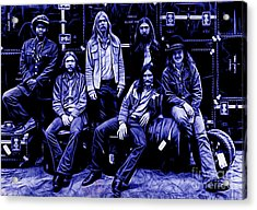 The Allman Brothers Collection Acrylic Print by Marvin Blaine