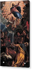 The Ascension Acrylic Print by Paolo Veronese