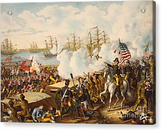The Battle Of New Orleans Acrylic Print