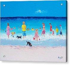The Beach Parade Acrylic Print