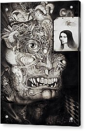 The Beast Of Babylon Acrylic Print by Otto Rapp