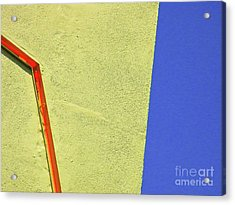 The Beauty Of Abstract Lines Acrylic Print