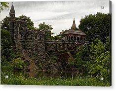 The Belvedere Castle Acrylic Print by M Nuri Shakoor