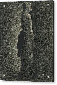 The Black Bow Acrylic Print