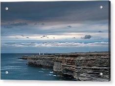 The Black Sea Crimea Acrylic Print by Anastasya Kondratyk